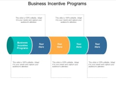 Business Incentive Programs Ppt Powerpoint Presentation Infographics Diagrams Cpb