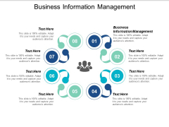Business Information Management Ppt PowerPoint Presentation File Graphics Example Cpb