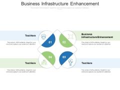 Business Infrastructure Enhancement Ppt PowerPoint Presentation Icon Portfolio Cpb