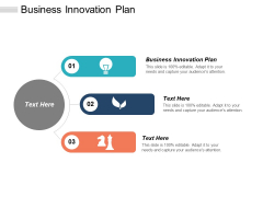 Business Innovation Plan Ppt PowerPoint Presentation Infographics Background Designs Cpb