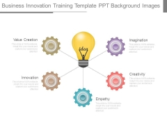 Business Innovation Training Template Ppt Background Images