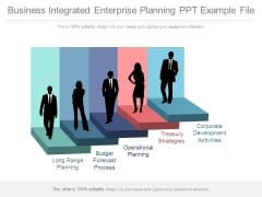 Business Integrated Enterprise Planning Ppt Example File