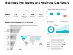 business intelligence and analytics dashboard ppt powerpoint presentation icon example topics pdf