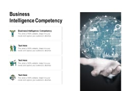 Business Intelligence Competency Ppt PowerPoint Presentation Pictures Graphics Cpb Pdf