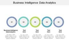 Business Intelligence Data Analytics Ppt PowerPoint Presentation Portfolio Deck Cpb