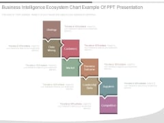 Business Intelligence Ecosystem Chart Example Of Ppt Presentation