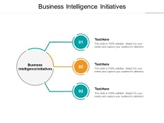 Business Intelligence Initiatives Ppt PowerPoint Presentation Pictures Slide Download Cpb