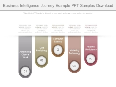 Business Intelligence Journey Example Ppt Samples Download