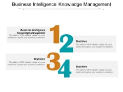 Business Intelligence Knowledge Management Ppt PowerPoint Presentation Portfolio Sample