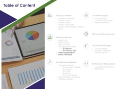 Business Intelligence Report Table Of Content Segmentation Ppt Icon Example Topics PDF