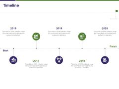 Business Intelligence Report Timeline Ppt Show Gridlines PDF