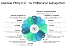 Business Intelligence Tool Performance Management Systems Entrepreneurs Association Ppt PowerPoint Presentation Show Guide