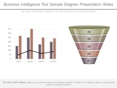 Business Intelligence Tool Sample Diagram Presentation Slides