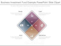 Business Investment Fund Example Powerpoint Slide Clipart