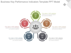 Business Key Performance Indicators Template Ppt Model