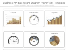 Business Kpi Dashboard Diagram Powerpoint Templates