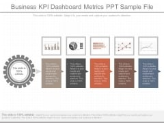 Business Kpi Dashboard Metrics Ppt Sample File