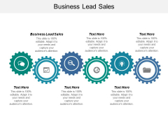 Business Lead Sales Ppt PowerPoint Presentation Layouts Examples Cpb