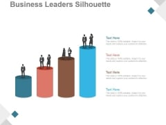 Business Leaders Silhouette Ppt PowerPoint Presentation Deck