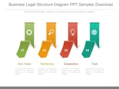 Business Legal Structure Diagram Ppt Samples Download