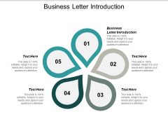 Business Letter Introduction Ppt PowerPoint Presentation Gallery Samples