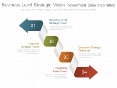 Business Level Strategic Vision Powerpoint Slide Inspiration