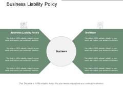 Business Liability Policy Ppt Powerpoint Presentation Infographic Template Visuals Cpb