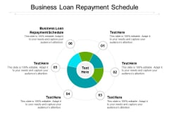Business Loan Repayment Schedule Ppt PowerPoint Presentation Summary Slides Cpb