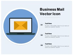 Business Mail Vector Icon Ppt PowerPoint Presentation Inspiration Icons PDF