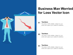 Business Man Worried For Loss Vector Icon Ppt PowerPoint Presentation File Graphics Tutorials PDF
