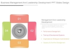 Business Management And Leadership Development Ppt Slides Design