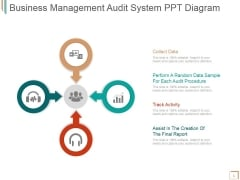 Business Management Audit System Ppt PowerPoint Presentation Icon