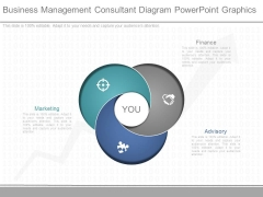 Business Management Consultant Diagram Powerpoint Graphics