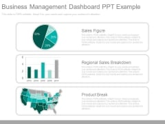 Business Management Dashboard Ppt Example