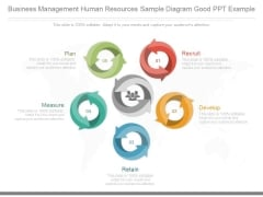 Business Management Human Resources Sample Diagram Good Ppt Example