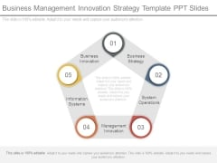 Business Management Innovation Strategy Template Ppt Slides