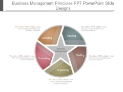 Business Management Principles Ppt Powerpoint Slide Designs