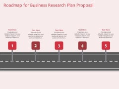Business Management Research Roadmap For Business Research Plan Proposal Ppt Infographics Backgrounds PDF