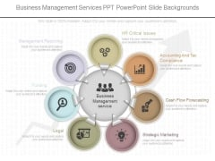 Business Management Services Ppt Powerpoint Slide Backgrounds
