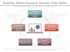 Business Market Research Services Chart Slides