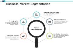 Business Market Segmentation Business Ppt PowerPoint Presentation File Slides