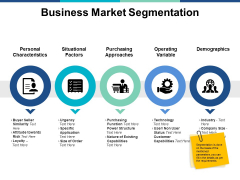 Business Market Segmentation Ppt PowerPoint Presentation Ideas