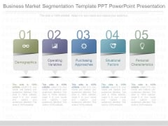 Business Market Segmentation Template Ppt Powerpoint Presentation