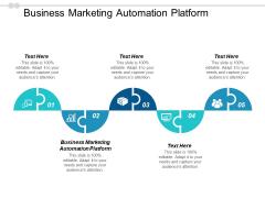 Business Marketing Automation Platform Ppt PowerPoint Presentation Ideas Background Image Cpb