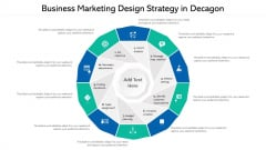 Business Marketing Design Strategy In Decagon Ppt PowerPoint Presentation File Formats PDF