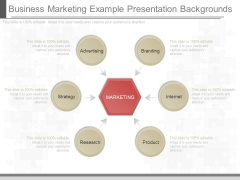 Business Marketing Example Presentation Backgrounds