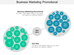 Business Marketing Promotional Ppt PowerPoint Presentation Slides Background Designs