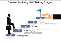 Business Marketing Staff Training Program Ppt PowerPoint Presentation Inspiration Grid