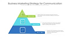 Business Marketing Strategy For Communication Ppt Visual Aids Background Images PDF