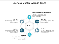 Business Meeting Agenda Topics Ppt PowerPoint Presentation File Templates Cpb